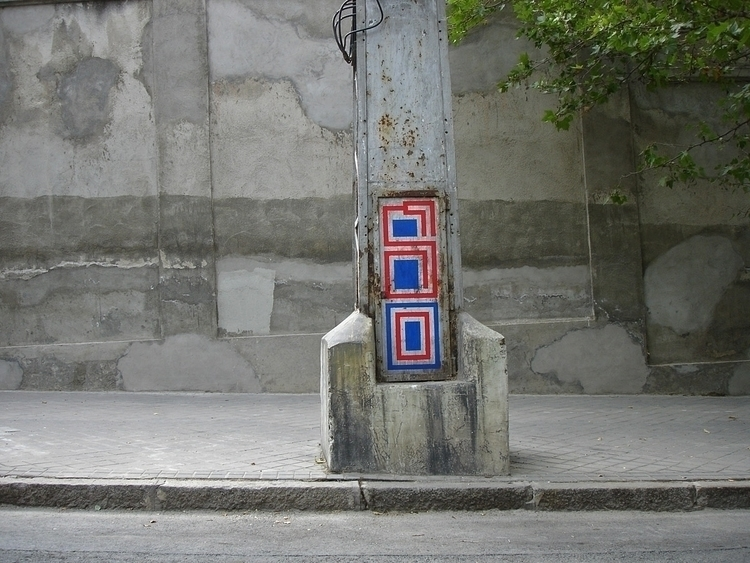 Furtive painting, Madrid 2005 - eltono | ello