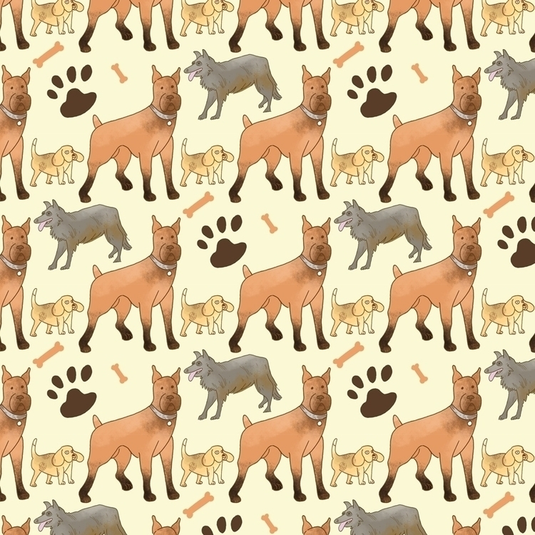 Dog Pattern - willdinski | ello