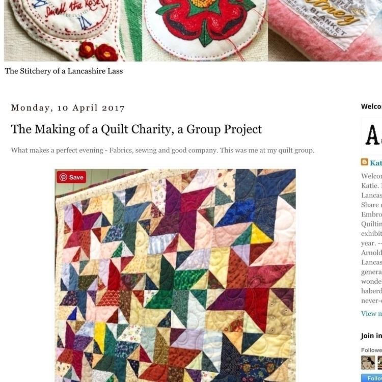 Check latest blogpost quilt :sc - arnolds-attic | ello