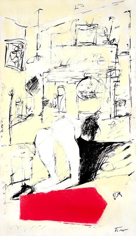 4th Floor, 223 Oil paper 1943 F - nealturner | ello