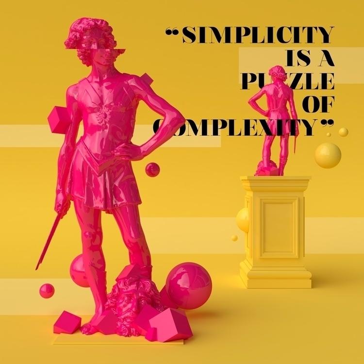 Classic Reborn - quotes, sculpture - molistudio | ello