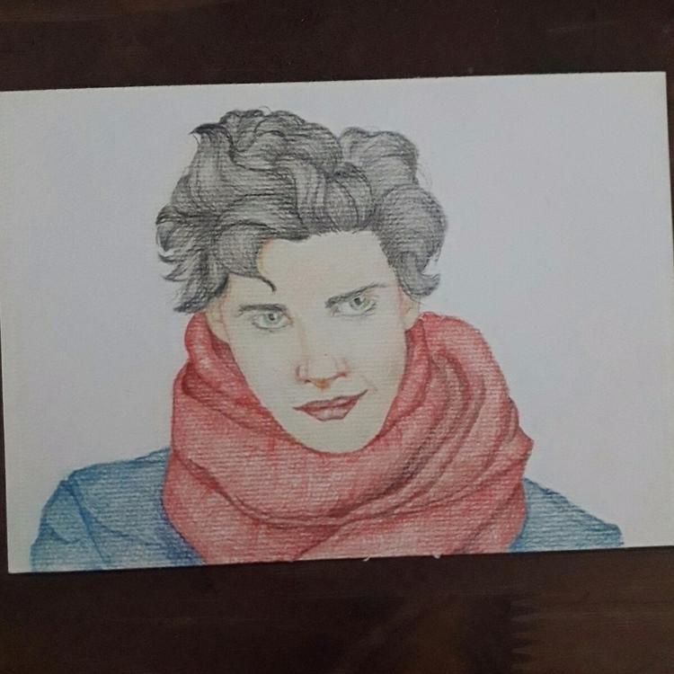 Color pencil paper. 2/3 - anamzr   ello