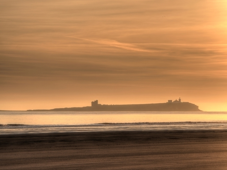Farne Islands Dawn - dawn light - neilhoward | ello