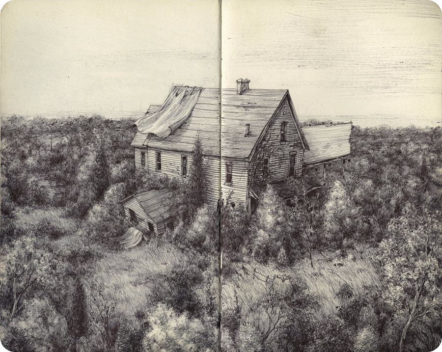(March/April sketchbook - heypatyeah | ello