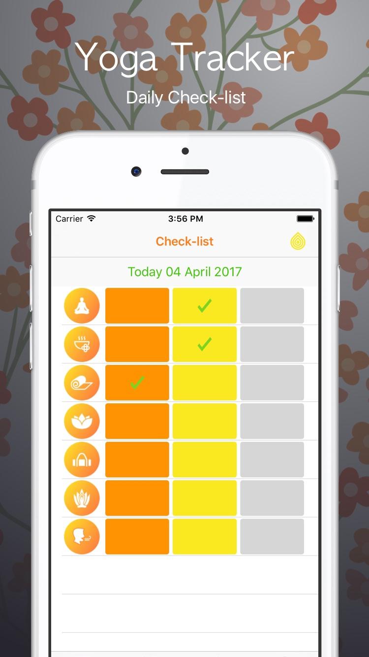 iOS app: Yoga-Tracker - oleka | ello