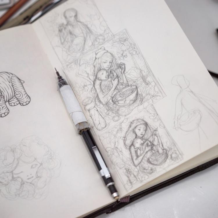 Thumbnails Udon II. Print relea - jamesjean | ello
