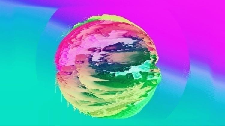 Decadencia  - glitch, glitchart - thetropicallady | ello