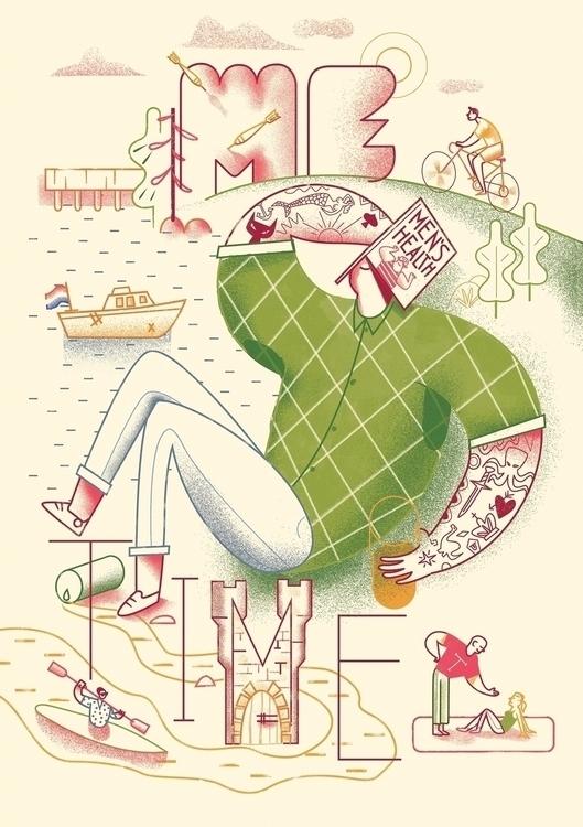 Ongoing Illustration series Dut - cesdavolio | ello