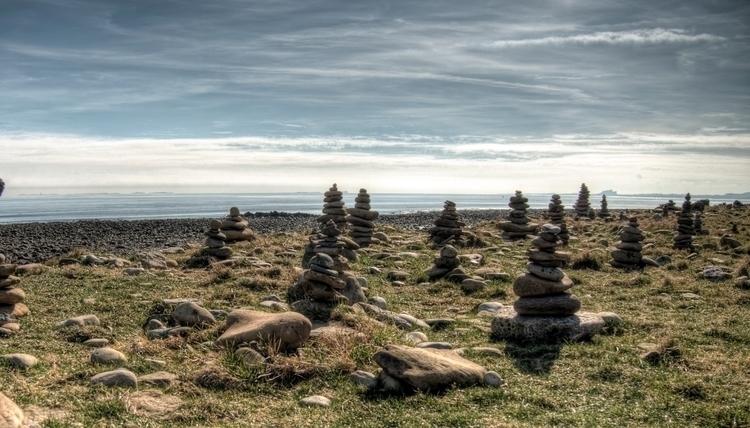 Rock Stacking Lindisfarne - poi - neilhoward | ello