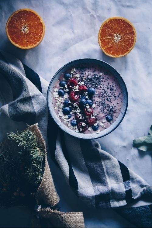 Raspberry smoothie - raspberry, vegan - gerarddms | ello