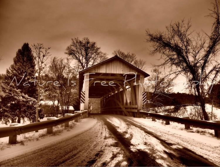 Covered Bridge, called Sherman  - natureisfree | ello