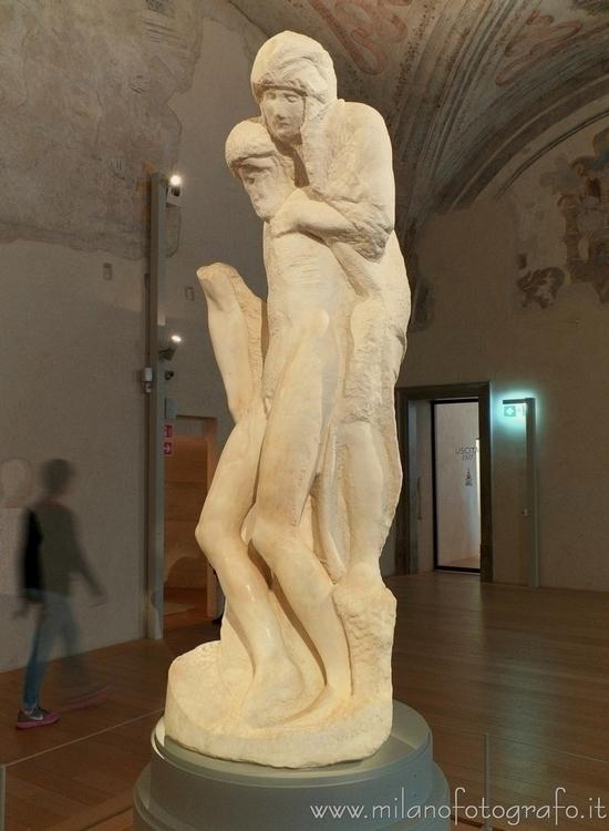 , Pietà Rondanini Michelangelo  - milanofotografo | ello