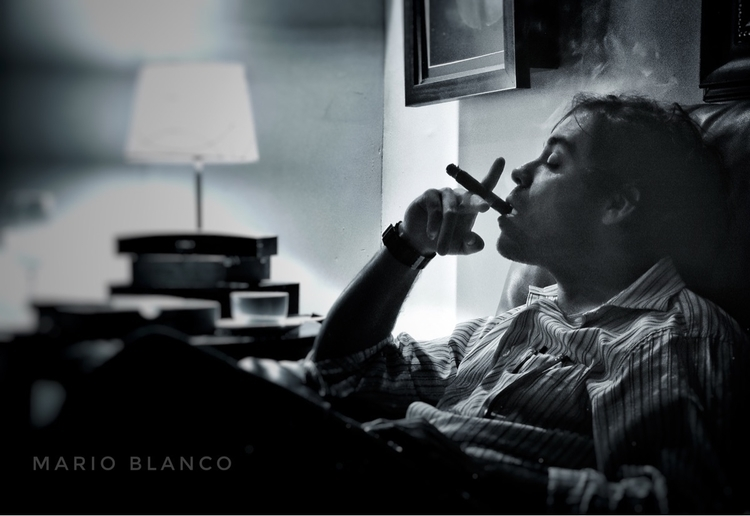 Art Smoking Cigars - ciagars, botl - mario_blanco | ello