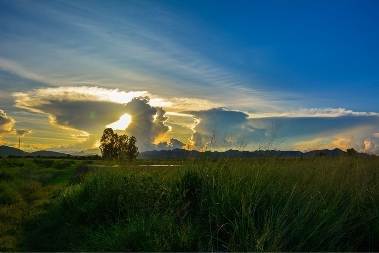 Sunset Thailand Birma - 2 Hua H - mqshots | ello