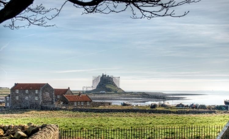 Lindisfarne Castle - view scaff - neilhoward | ello