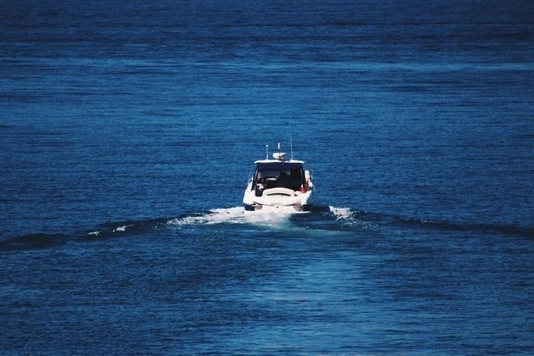port - boat, sea, photography, blue - kcrook | ello
