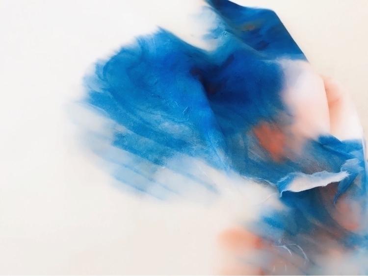 Experimentation 1 - ricepaper, watercolor - zhouzoeyuan | ello
