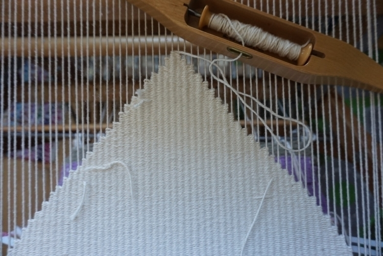 Putting triangle - weaving, textiles - katrinamjcraig | ello