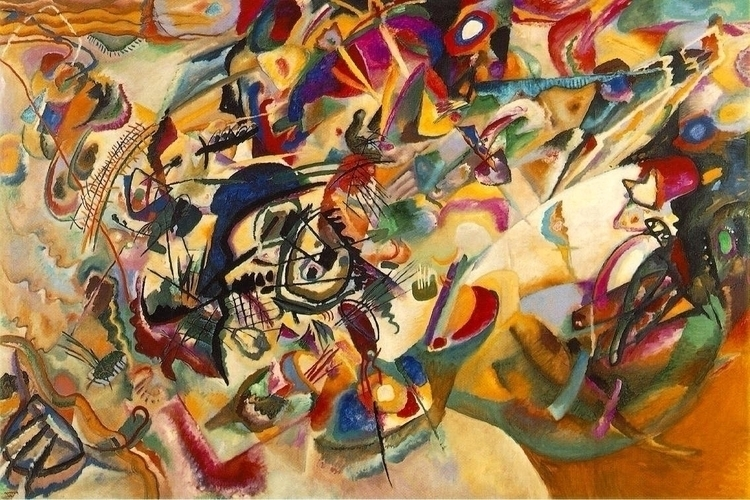 Kandinsky? favorite abstraction - vinniecarter | ello