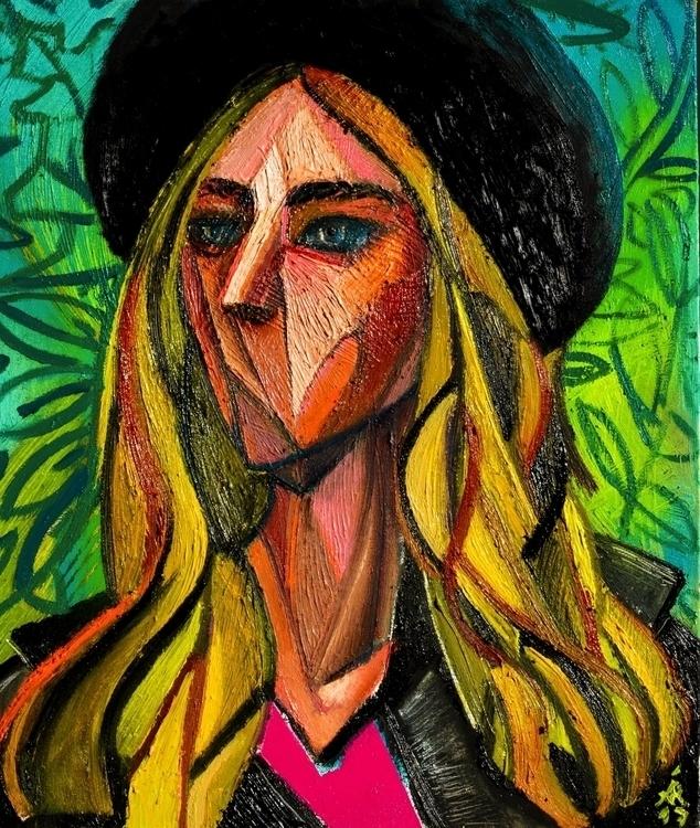 Portrait Chiara Ferragni - part - alexandraramirezarts | ello