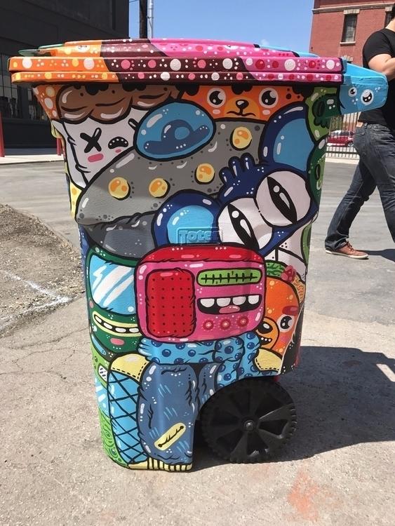 side redesigned bin 2017 Coache - warholbot | ello