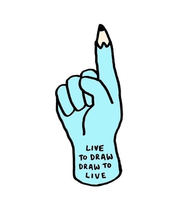 Live draw - illustration, illustrator - royhl | ello