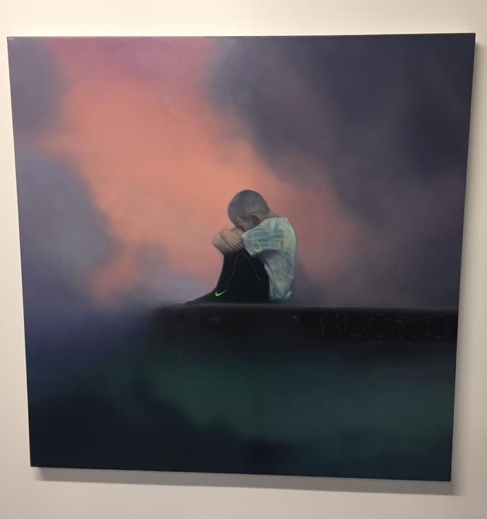 Primo 36x36 oil canvas - seamusconley | ello