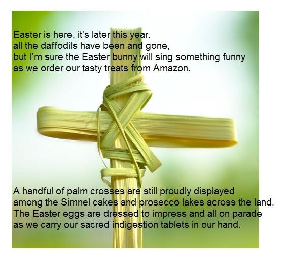 double epigram Easter - simmeringpoet | ello