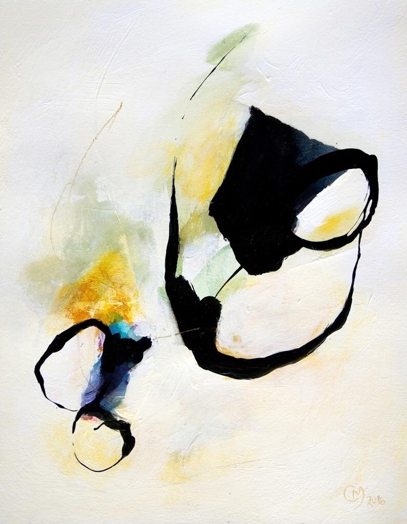 __Rising__ mixed media paper  - contemporaryart - onnavoellmer | ello