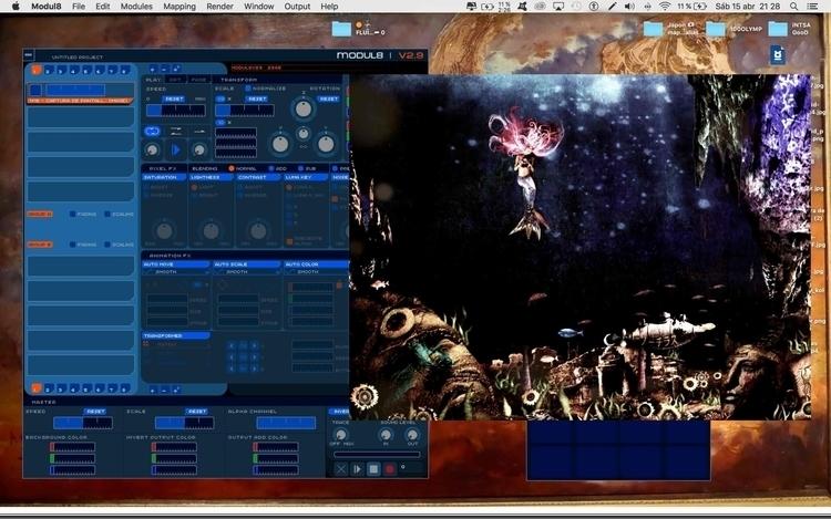 Setup, screen, Modul8, desktop - romangomes | ello