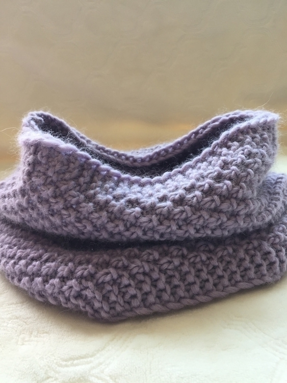 Purple cowl ETSY SHOP - knits, knitting - siennaknits | ello