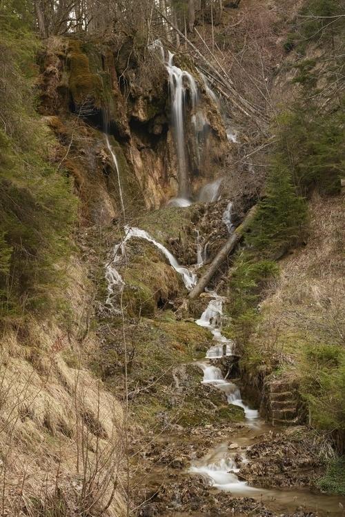 plenty waterfalls Ammerschlucht - schlichi | ello