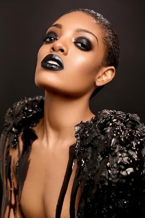 Art Director/Makeup:Charles Za - darkbeautymag | ello