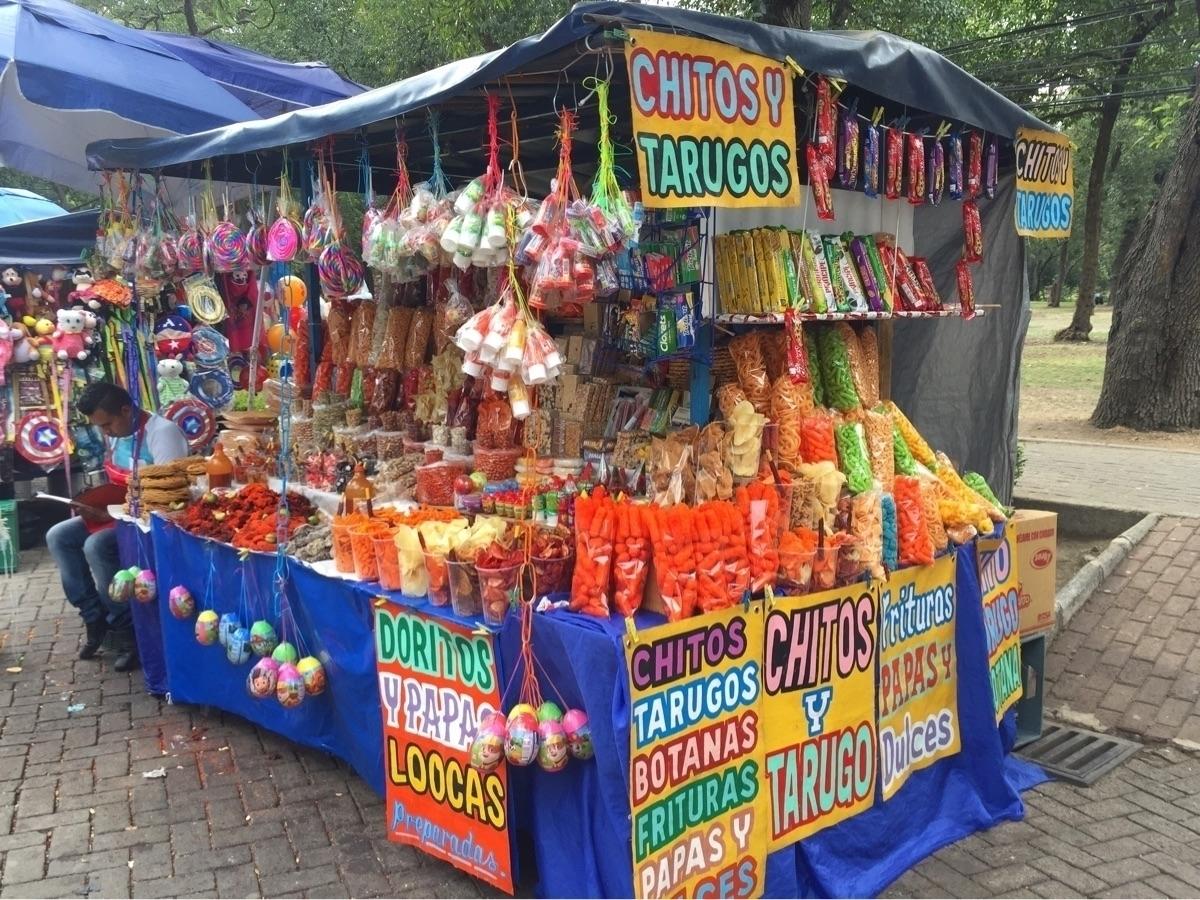 Snacks - mexicocity, mexico, chapultepecpark - helliongallery   ello