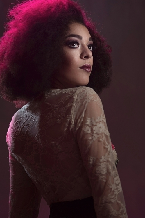 Model Nyah Blais. Hair artist C - jamiesolorio | ello