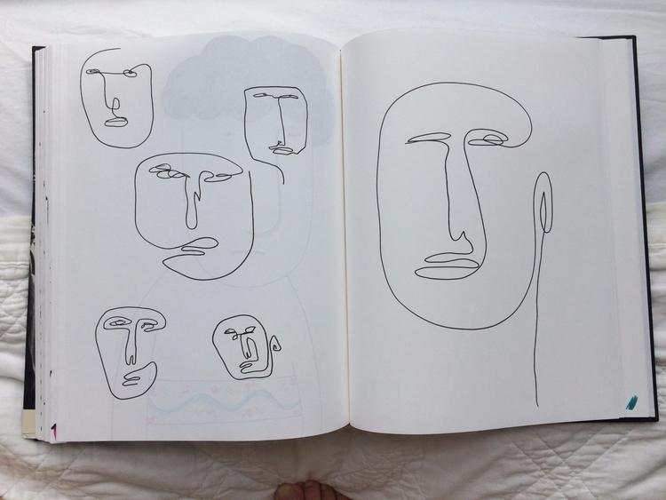 Fever drawings - ink, illustration - mitsubishiufjfinancial   ello