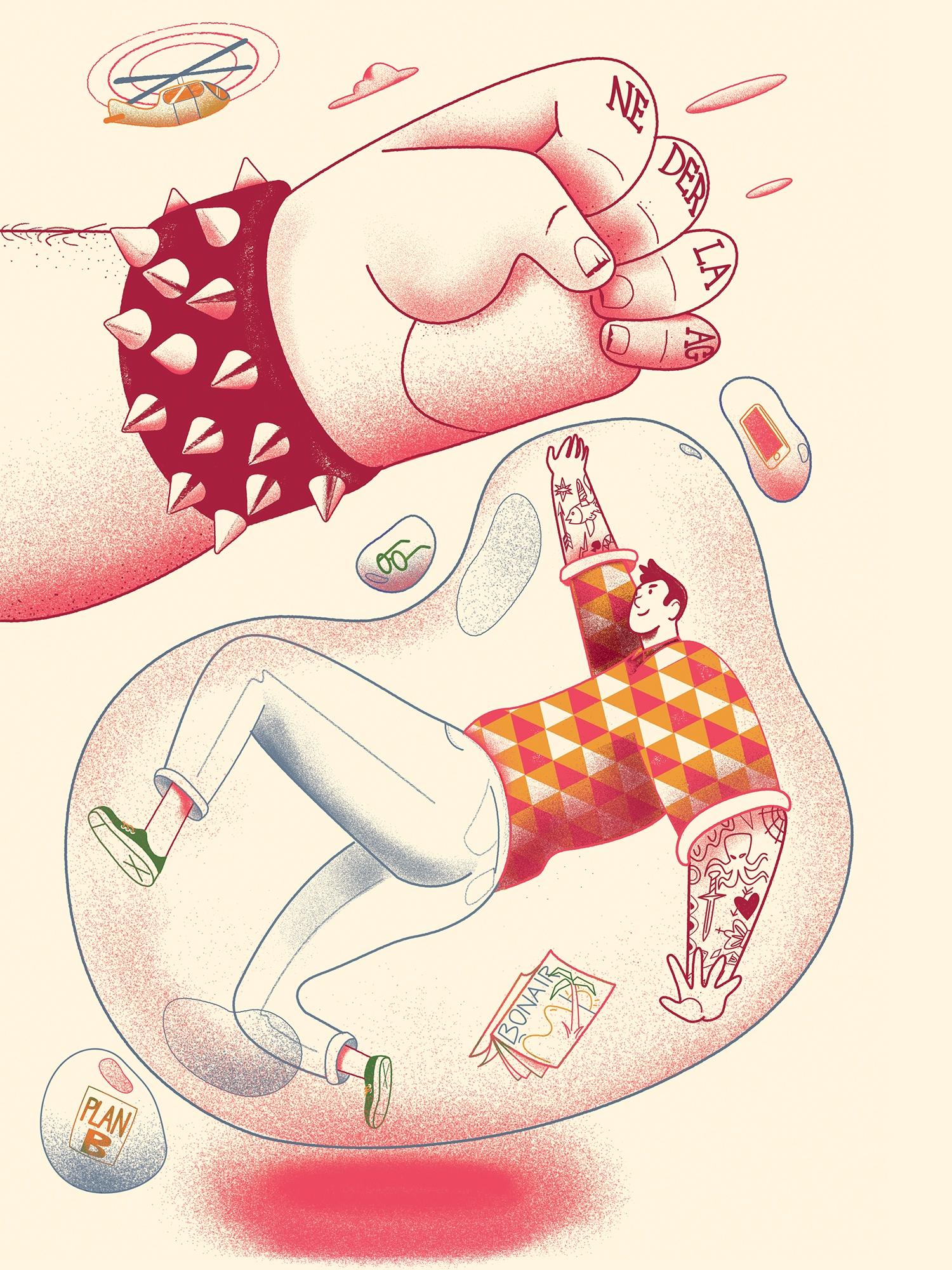 Latest illustration Health mag  - cesdavolio | ello