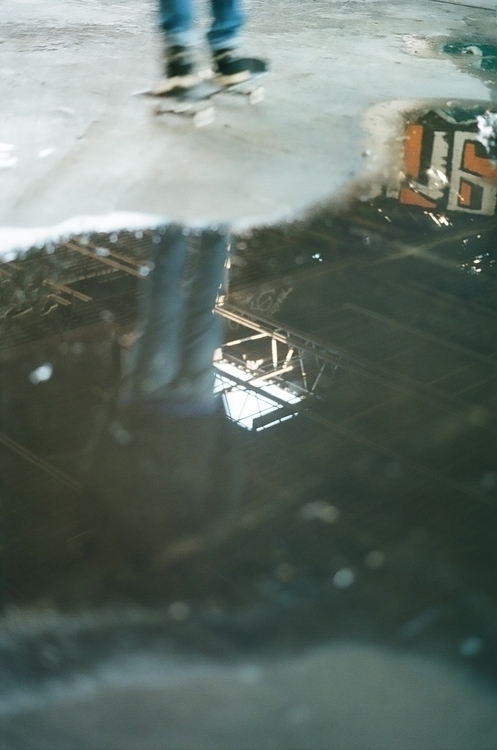 skate reflections - 35mm, photography - thefilmbruja | ello