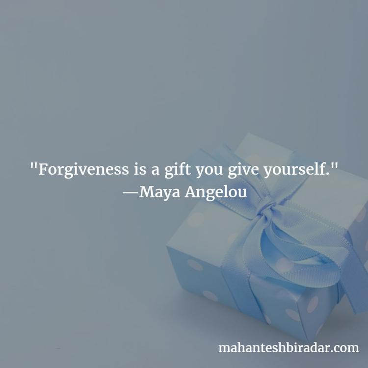 Forgiveness gift give —Maya Ang - dailyinspiration | ello