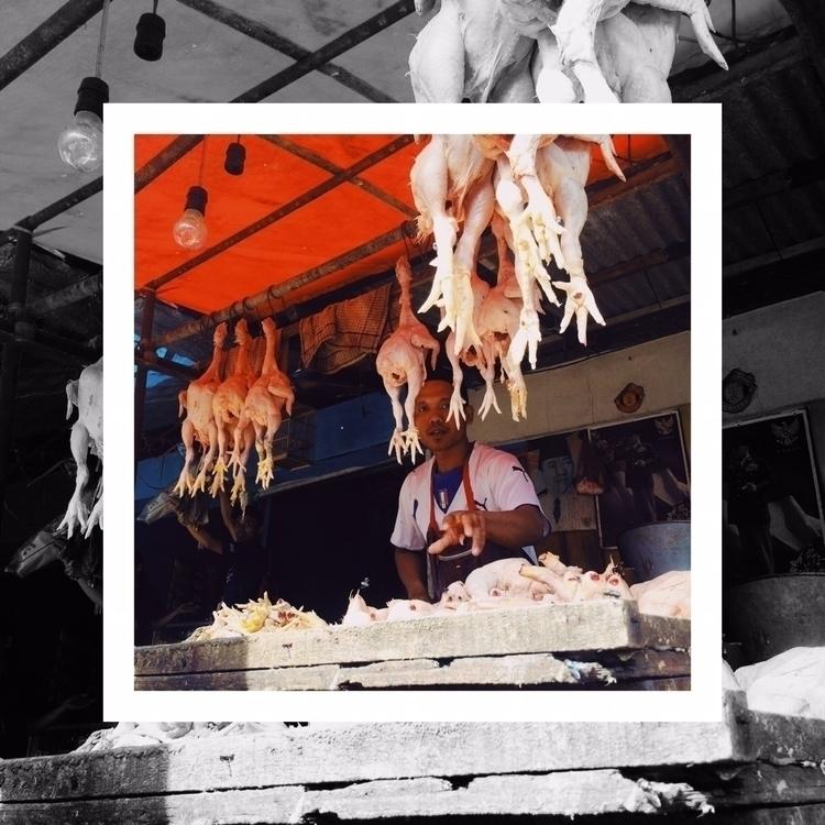 Butcher. | Le boucher. Penjual  - aggnarut | ello