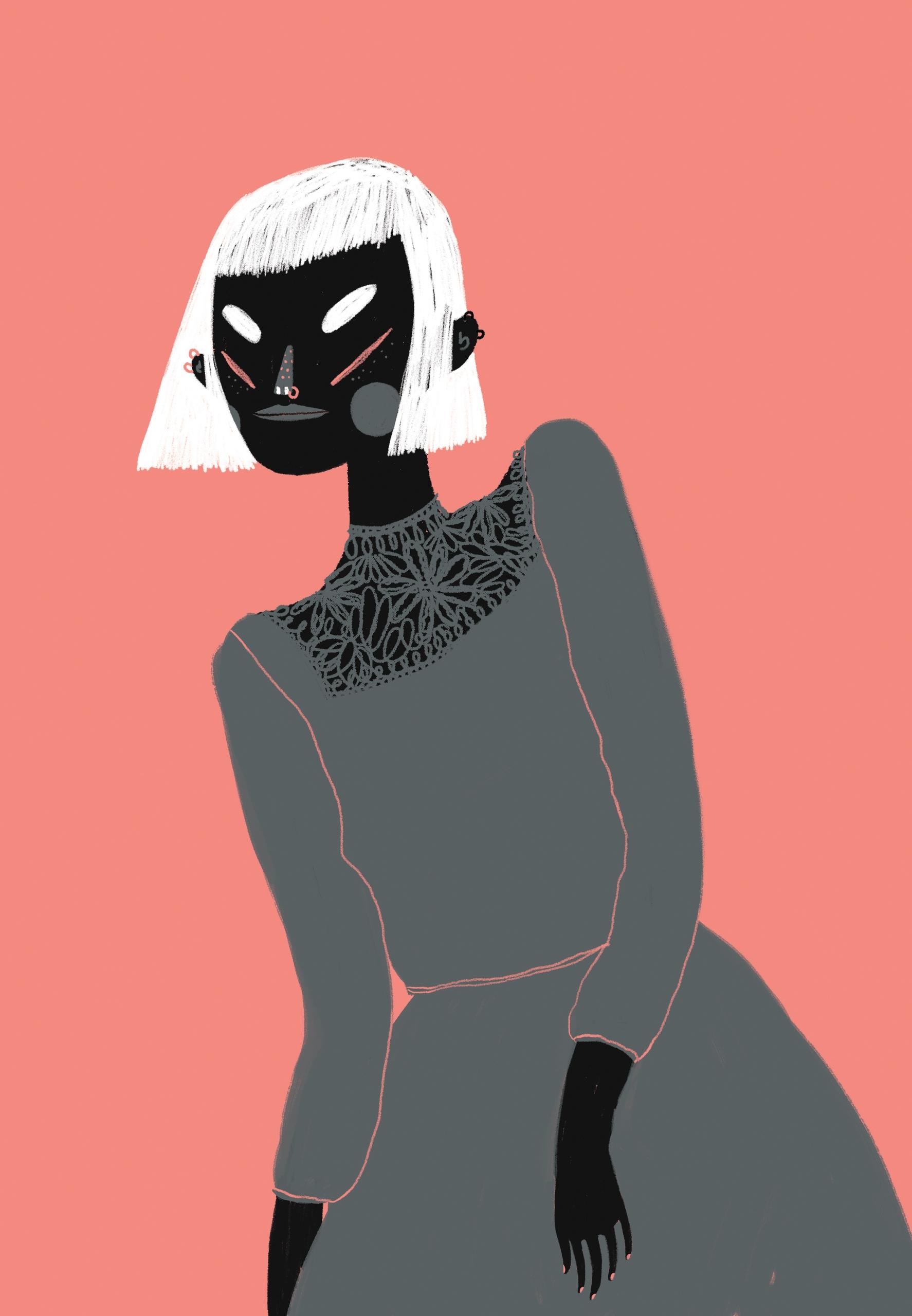 Fashion illustration Uppers Dow - rachelkatstaller | ello