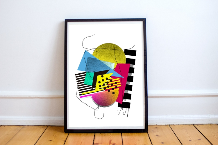 print, contact mail - geometry, poster - jmelloni | ello