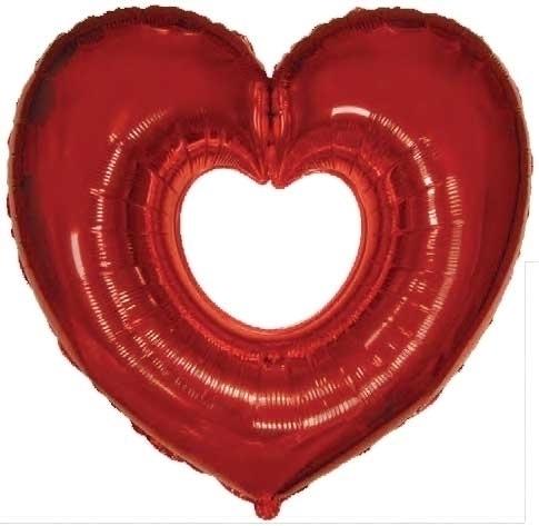 Šuplje srce folija balon ili sr - baloni | ello