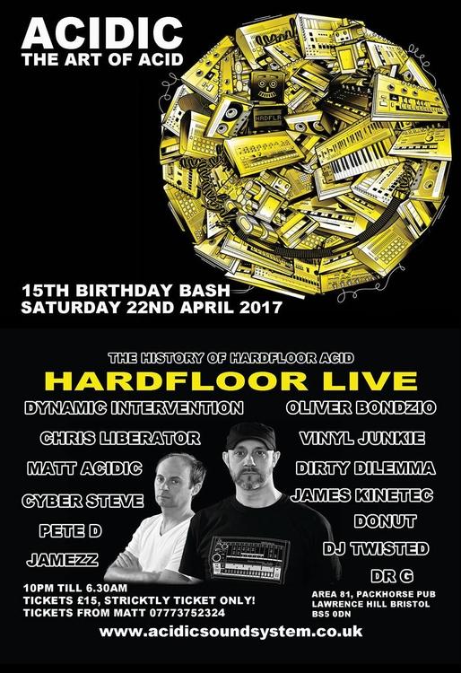 **HARDFLOOR LIVE** 22_April_201 - bondziolino | ello