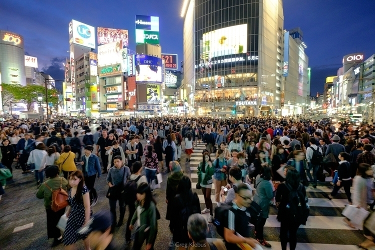 Shibuya Crossing - tokyo, japan - gklebus   ello