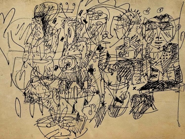 Cédric Joveniaux - neoexpressionism - particulescreatives | ello