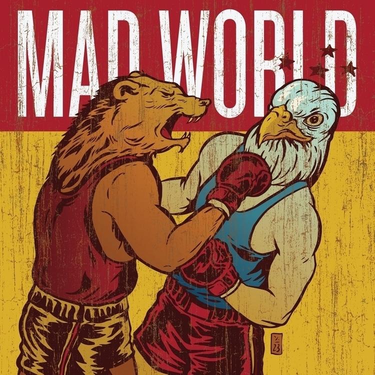 Mad World 2017 - illustration - thomcat23 | ello