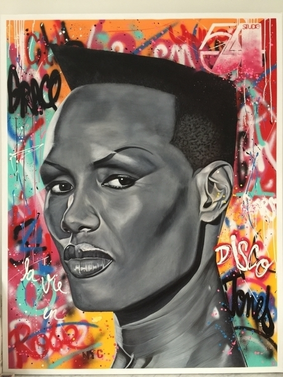 Grace Jones artwork - christian-charriere | ello