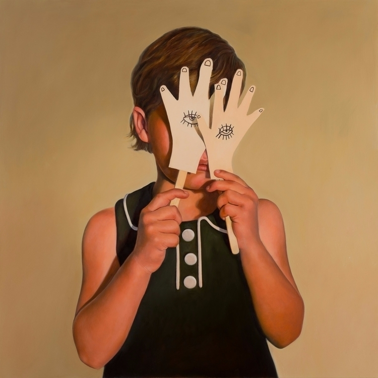 Disquiet Hands), 2013, oil boar - rebeccahastings | ello