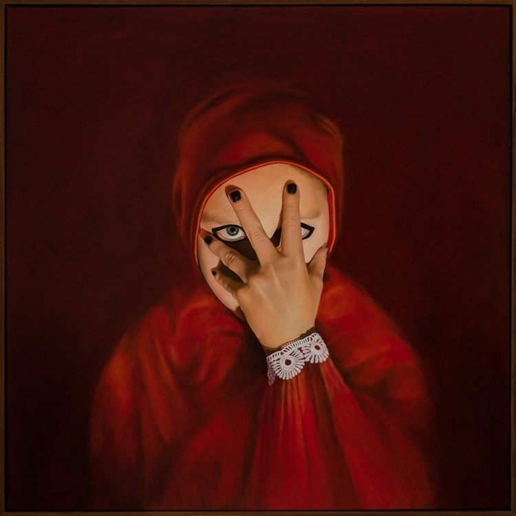 Rude Fingers II, 2014, oil boar - rebeccahastings | ello